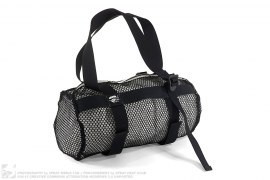 Open Mesh Drum Roll Duffle Bag by A Bathing Ape