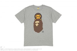 Baby Milo On Apehead Tee by A Bathing Ape
