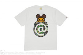 ABC Camo @ Milo Bearbrick Tee by A Bathing Ape x Medicom
