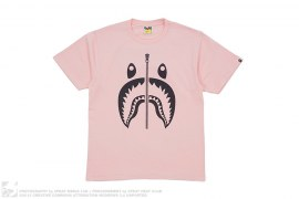 Bicolor Shark Tee by A Bathing Ape