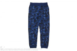 Color Camo Slim Sweatpants by A Bathing Ape