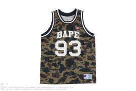 1st Camo Basketball Jersey by A Bathing Ape x Champion