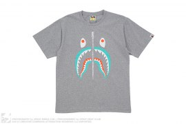 Colors Shark Tee by A Bathing Ape
