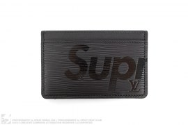 SM EPI Card Holder by Supreme x Louis Vuitton