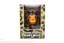 Shark Hoodie Baby Milo Vinyl Figure by A Bathing Ape x Medicom