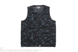 Dot Camo Foot Soldier Down Vest by A Bathing Ape