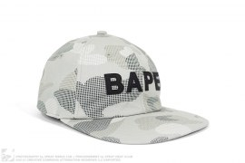 Dot Camo BAPE Logo Snapback by A Bathing Ape