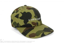 1st Camo Embroidered Strapback Hat by A Bathing Ape