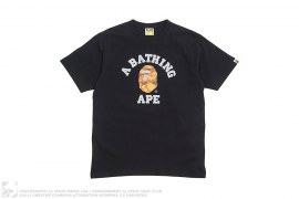 1st Camo Reflector College Logo Tee by A Bathing Ape