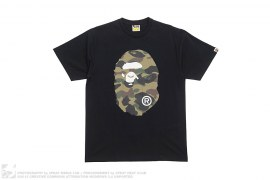 1st Camo Coming & Going Straight Through Apehead Tee by A Bathing Ape
