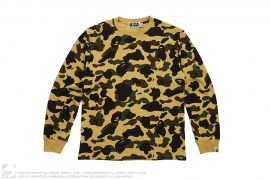1st Camo Thermal Long Sleeve Tee by A Bathing Ape