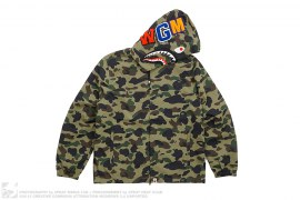 1st Camo Shark Hoodie Jacket by A Bathing Ape