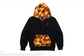 1st Camo Apehead Nylon Accent Full Zip Hoodie by A Bathing Ape