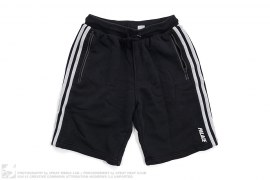 Terry Stripe Sweatshorts by adidas x Palace