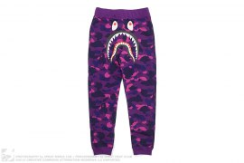 Ultimate Color Camo Shark Slim Sweatpants by A Bathing Ape