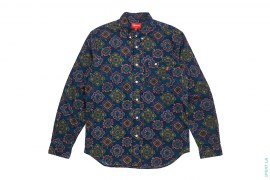 Geometric Button-Up Shirt by Supreme