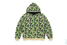 Baby Milo Store Milo Camo Reversible Stone Wash Hoodie by A Bathing Ape