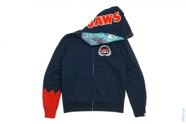 Jaws Shark Hoodie by A Bathing Ape x Jaws
