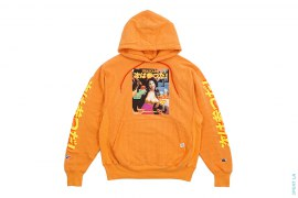 Next Has Three TR Vintage Wash Pullover Hoodie Tangerine by 3peat LA x heatclub