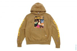 Next Has Three TR Vintage Wash Pullover Hoodie Root Beer by 3peat LA x heatclub