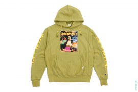 Next Has Three TR Vintage Wash Pullover Hoodie Lime by 3peat LA x heatclub