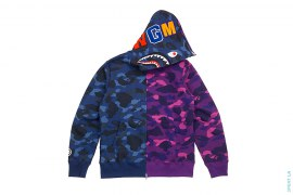 Ultimate Color Camo Split Shark by A Bathing Ape