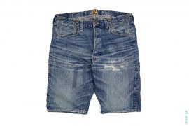 Vintage Wash Denim Shorts by Human Made