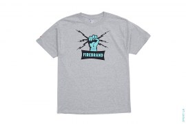Firebrand Tee - grey by 3peat LA x heatclub