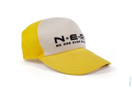 Logo Mesh Trucker by A Bathing Ape x NERD