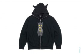 Milo Batman Full Zip Hoodie by A Bathing Ape x DC Comics