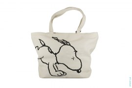 Outline Snoopy Tote Bag by Kaws x Peanuts x Uniqlo