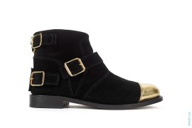 Gold Steel Toe Boot by Balmain x H&M