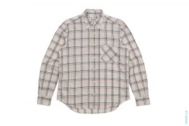 Plaid Button-Up Shirt by Carhartt x Adam Kimmel