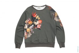 Floral College Print Crewneck by Acne Studios