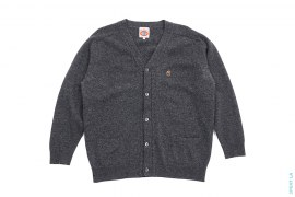 Small Apehead Wool Cardigan by A Bathing Ape