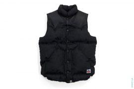 Jacquard Camo Leather Shoulder Vest by A Bathing Ape