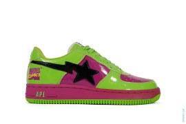 Hulk Bapesta by A Bathing Ape x Marvel Comics