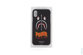 2nd PONR Shark iPhone X Case by A Bathing Ape