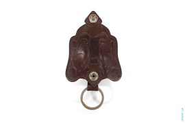 Leather Keychain Holder Keychain by True Religion