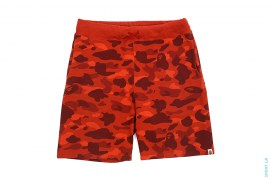 Color Camo Sweatshorts by A Bathing Ape