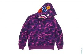 Color Camo WGM Wappen Shark by A Bathing Ape