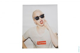 Lady Gaga Poster by Supreme