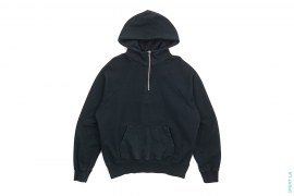 FOG Quarter Zip Pullover Hoodie With Side Zippers by Fear of God x Pacsun