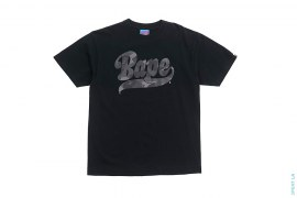 Color Camo Bape Logo Tee by A Bathing Ape
