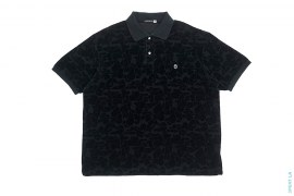 ABC Camo Terry Cloth Polo by A Bathing Ape