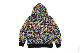 Ultimate Multi Camo Full Zip Hoodie by A Bathing Ape