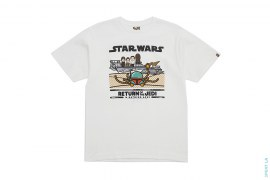 Milo All Star Boba Fett Tee by A Bathing Ape x Star Wars