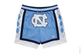 Collegiate Shorts UNC Away Carolina Blue by Jordan Brand x Just Don