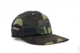 1st Camo Capsule Woodland Camo Strapback Hat by A Bathing Ape x Undefeated
