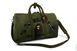 Boston Bag Overnight Duffel by A Bathing Ape x Readymade